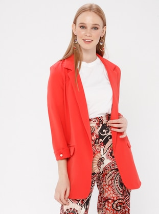 Coral - Unlined - Shawl Collar - Jacket