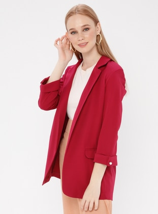 Cherry - Unlined - Shawl Collar - Jacket