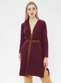 Purple - Cardigan