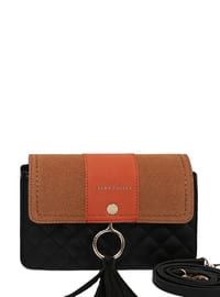 Black - Orange - Shoulder Bags