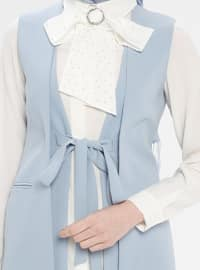 Blue - White - Ecru - Fully Lined - Suit