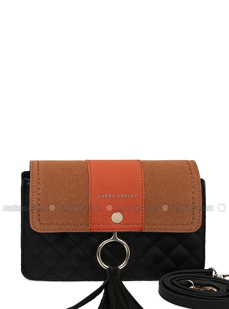 Black - Orange - Shoulder Bags