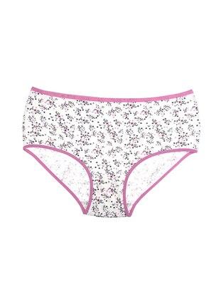 Pink - Cotton - Panties