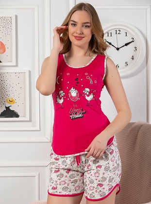 Fuchsia - Cotton - Short Set