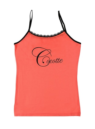 Coral - Cotton - Undershirt