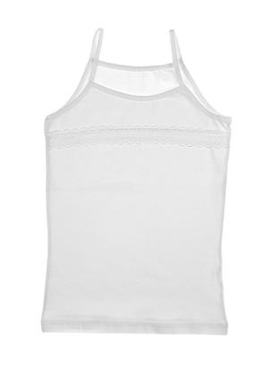 White - Girls` Underwear - Donella