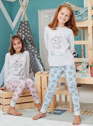 Cotton - Salmon - Baby Pyjamas
