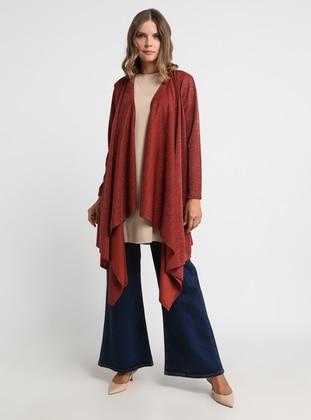 Beige - Cinnamon - Unlined - Suit