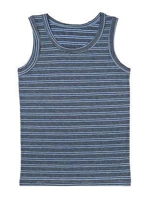 Stripe - Cotton - Blue - Kids Underwear - Doni