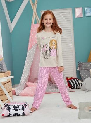 Cotton - Pink - Baby Pyjamas