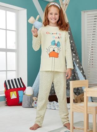 Cotton - Yellow - Baby Pyjamas