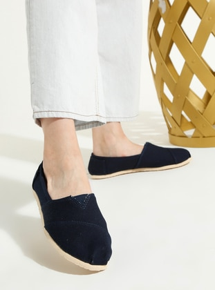 Navy Blue - Sport - Casual - Sports Shoes
