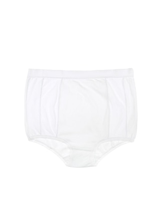 White - Cotton - Panties