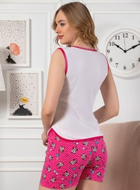 Ecru - Cotton - Short Set