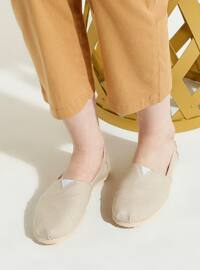Beige - Sport - Casual - Sports Shoes