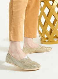 Gold - Sport - Casual - Sports Shoes