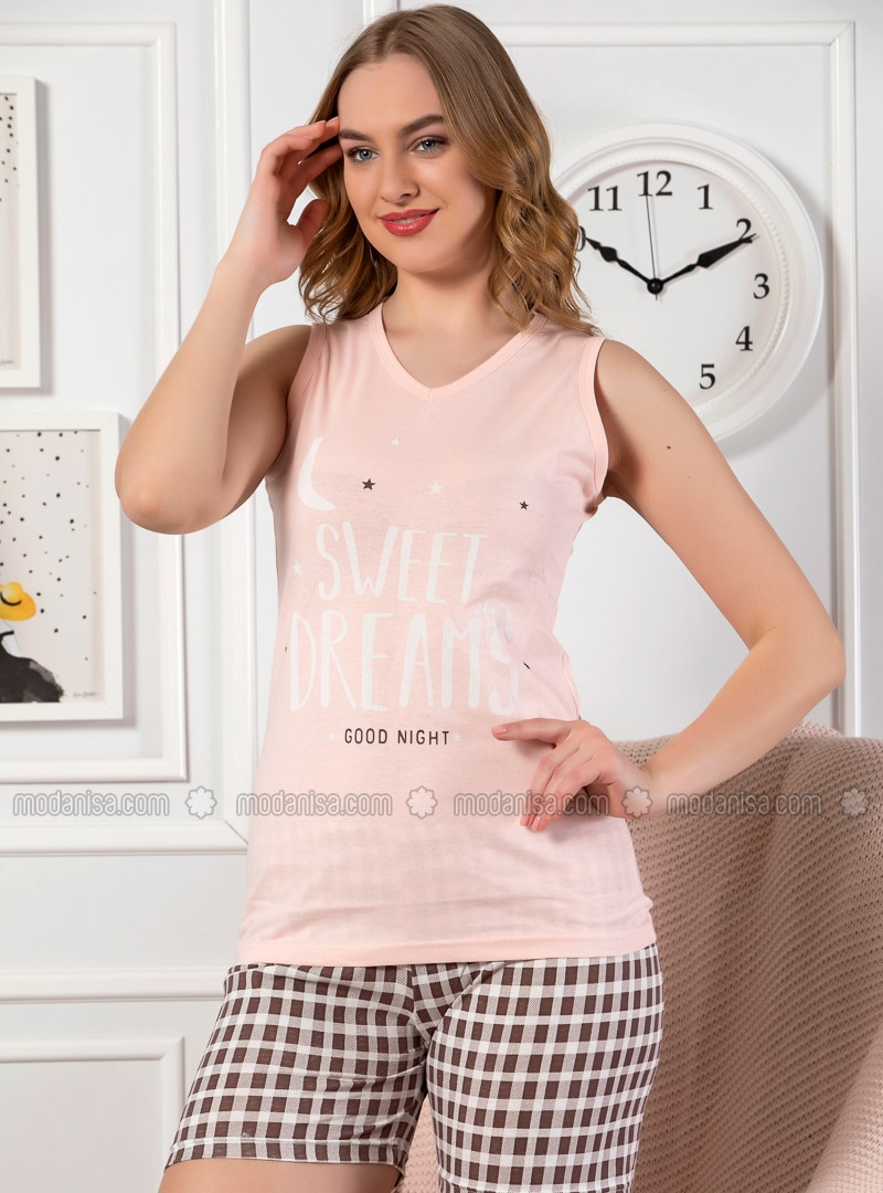 Salmon - Cotton - Short Set