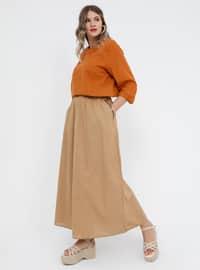 - Unlined - Cotton - Plus Size Skirt