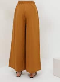 Brown - Mustard - Pants