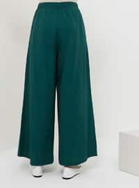 Green - Emerald - Pants