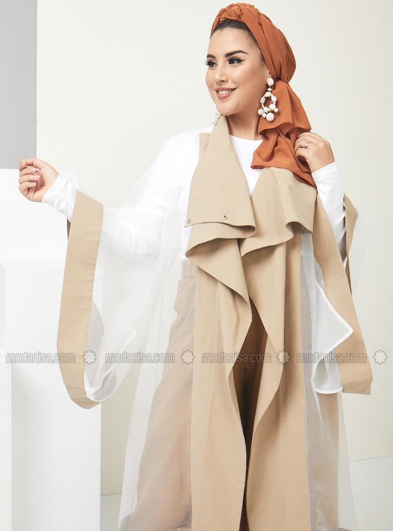 Beige - Unlined - Topcoat