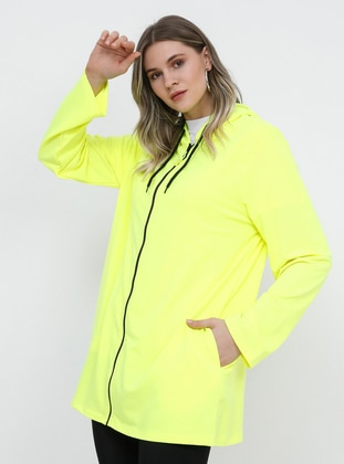 Yellow - Plus Size Tunic