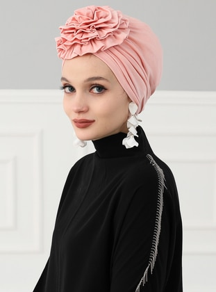 Powder - Plain - Cotton - Bonnet