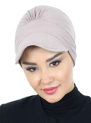 Mink - Plain - Cotton - Bonnet