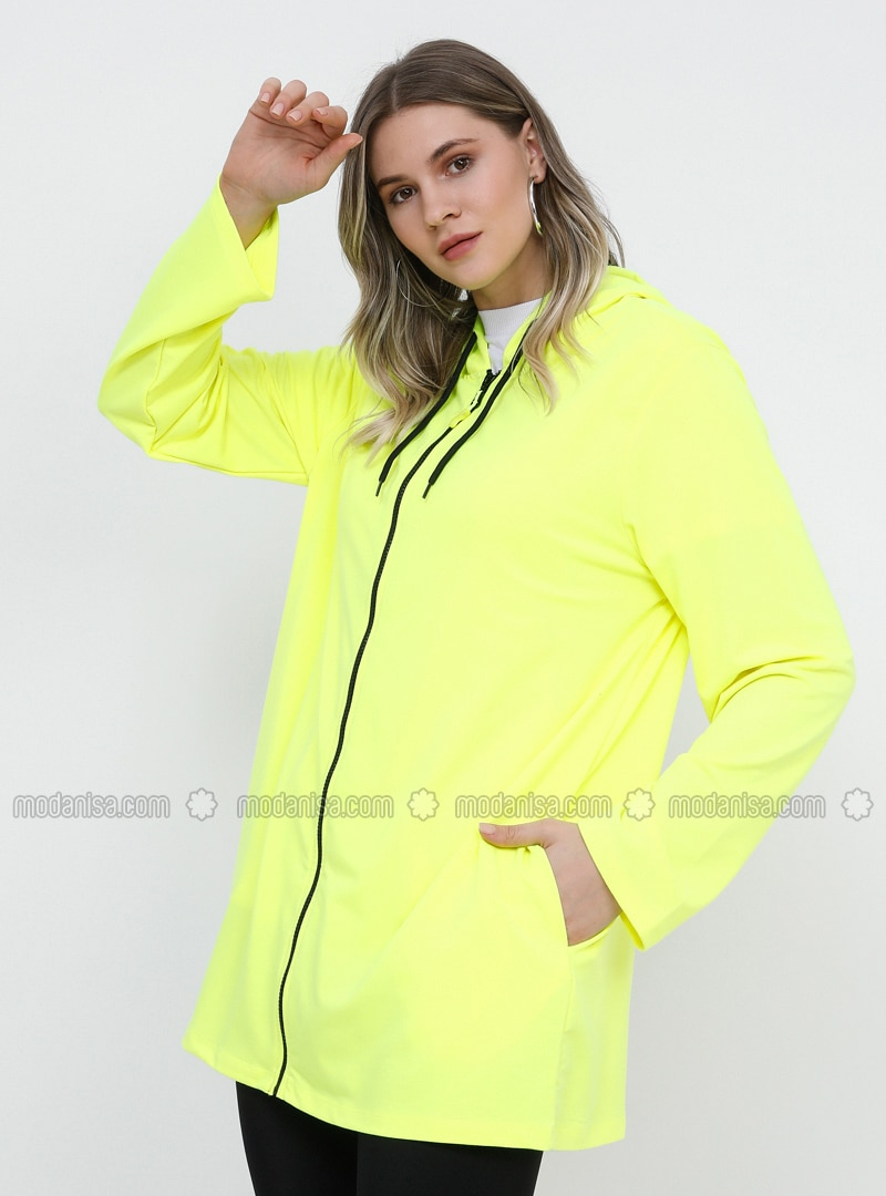Yellow - Plus Size Tunic