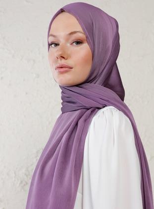 Lilac - Plain - Shawl - Şal