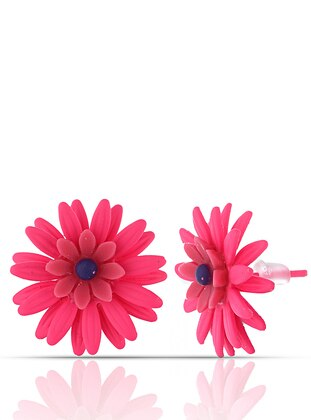 Pink - Multi - Earring