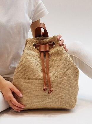 Beige - Backpacks