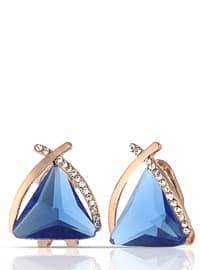 Navy Blue - Multi - Earring