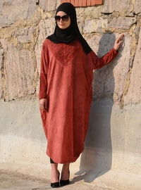 - Unlined - Cotton - Dress
