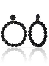 Black - Multi - Earring