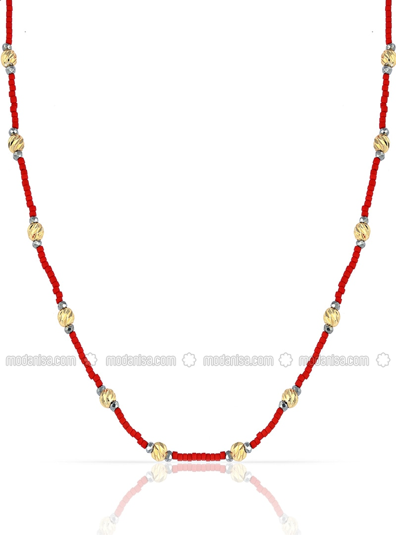 Red - Multi - Necklace