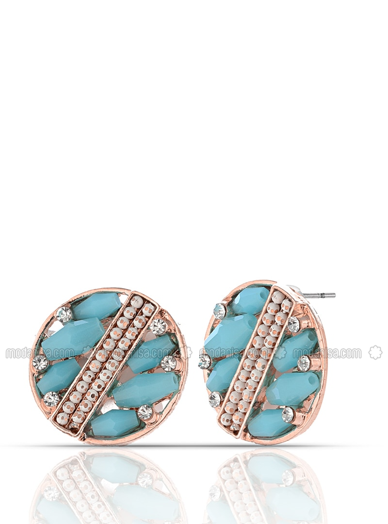 Blue - Multi - Earring