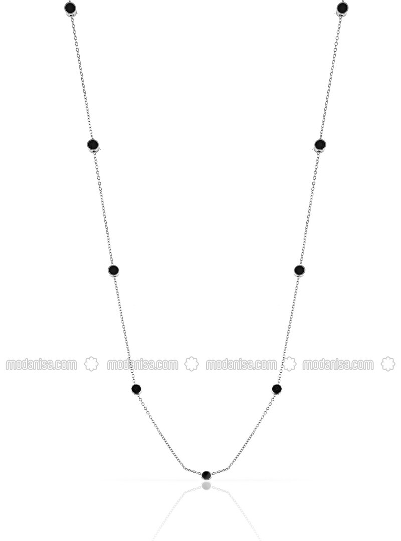 Black - Multi - Necklace