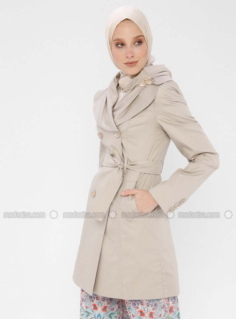 Minc - Fully Lined - Shawl Collar - Trench Coat