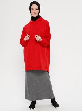 Smoke - Unlined - Viscose - Skirt