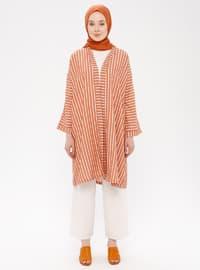 Tan - Stripe - Unlined - Topcoat