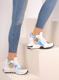 White - Ecru - Sport - Shoes