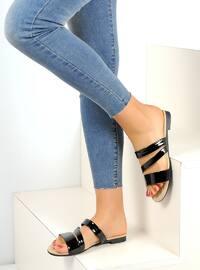 Black - Sandal - Black - Sandal - Black - Sandal - Black - Sandal - Black - Sandal - Slippers