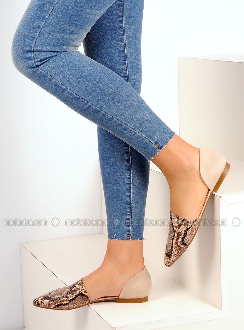 Brown - Flat - Casual - Shoes