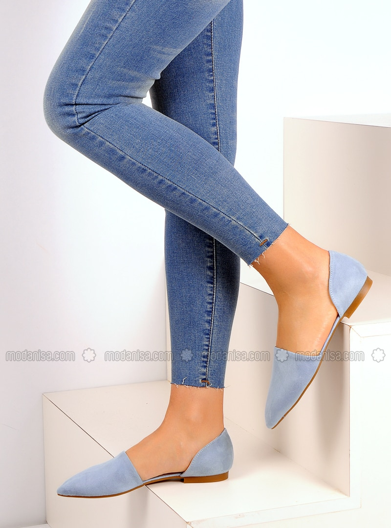 Blue - Flat - Casual - Shoes