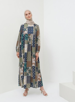 828c6d05901ff Tesettür Elbise Modelleri ve Fiyatları | Modanisa