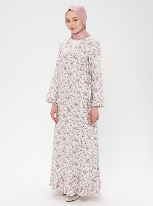 White - Pink - Ecru - Multi - Unlined - Prayer Clothes - Me Like