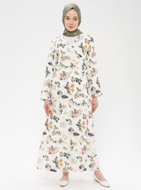 White - Multi - Unlined - Prayer Clothes