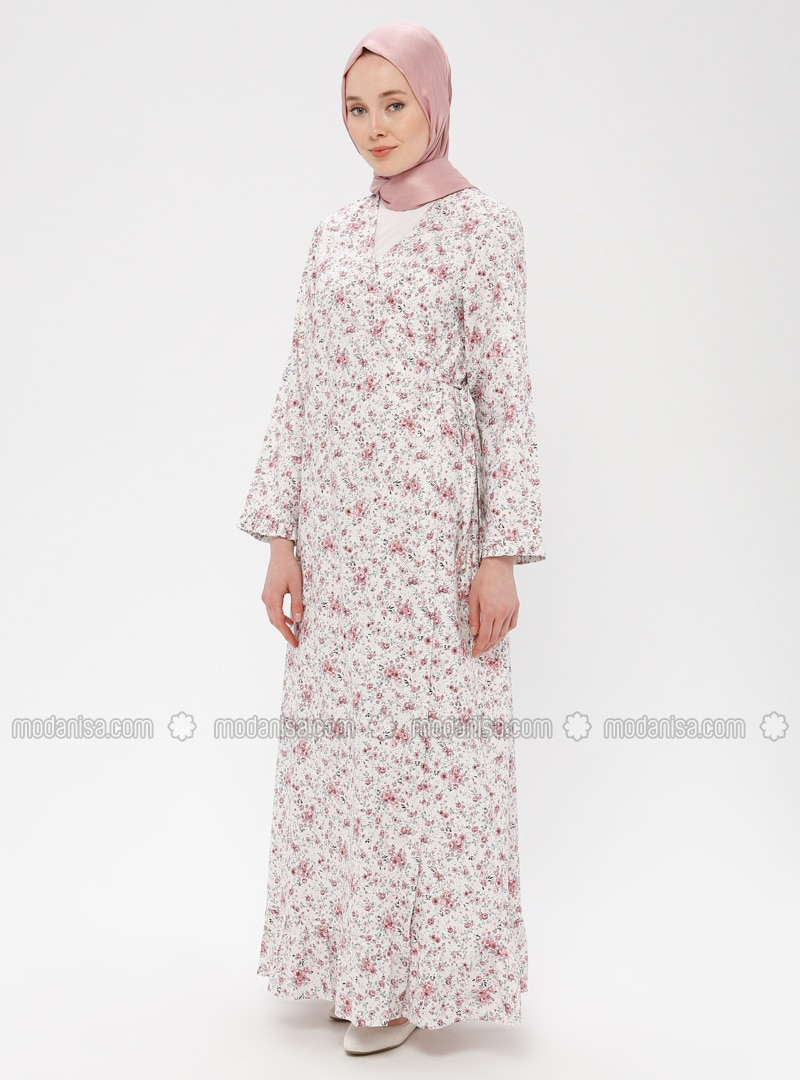 White - Pink - Ecru - Multi - Unlined - Prayer Clothes
