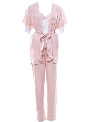 Pink - Powder - Morning Robe
